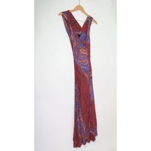 Marc By Marc Jacobs paisley modal maxi dress XS